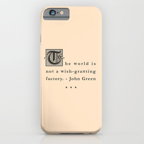 Wish-Granting Factory iPhone & iPod Case