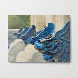 Blue Tooth Metal Print