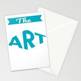 The Legendary Art Teacher Retirement Gift Design Stationery Cards