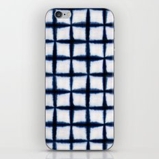 Shibori Squares iPhone & iPod Skin