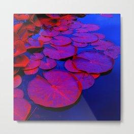 lily pads I Metal Print