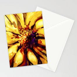 Sunflower by Laura Zollar Stationery Cards