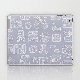 Picto-glyphs Story Laptop & iPad Skin
