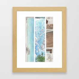 Window to Window Framed Art Print