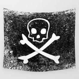 Jolly Roger Wall Tapestry