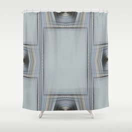Brown and Grey Tones of Eucalyptus 3 Shower Curtain