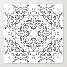 outback lines Canvas Print