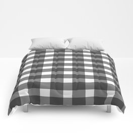 Black And White Gingham Comforters