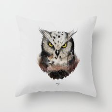 The owls are not what they seem Throw Pillow