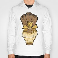 tiki Hoodies featuring Freaki Tiki by The Backwater Co