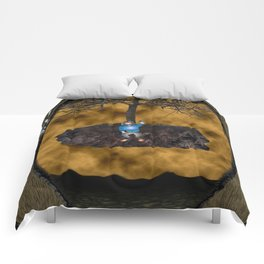 Book Cover Illustration Comforters