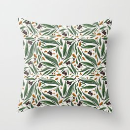 Gumnuts Throw Pillow