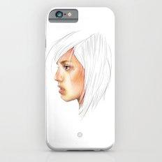 Coloured White iPhone 6s Slim Case
