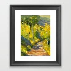 Golden Gates Framed Art Print