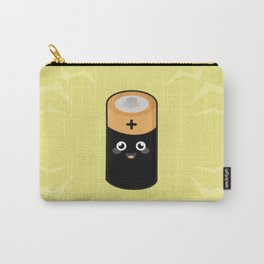 Kawaii battery Carry-All Pouch