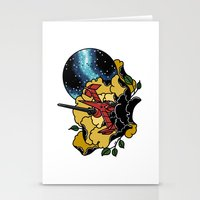 bebop Stationery Cards featuring Cowboy Bebop Swordfish II by Crap Panther