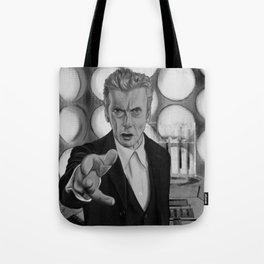 Twelfth Doctor Old Tardis Tote Bag