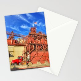 Gilbert's Feed Co. – Oakdale, California, USA Stationery Cards