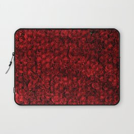 Roses are red, this pattern is too Laptop Sleeve