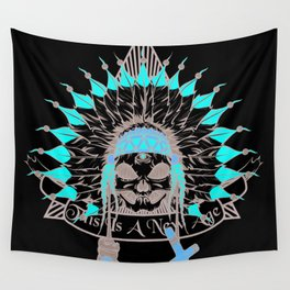 Alien Chief  Wall Tapestry