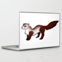 ferret Laptop & iPad Skins featuring Ferret! by Sarah Engbretsen