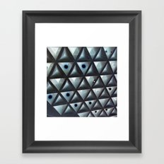 Triangle Gallery Framed Art Print