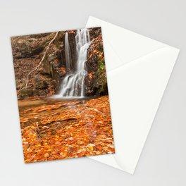 Orange Grove Waterfall Stationery Cards
