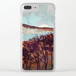 Fall Foliage Clear iPhone Case