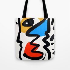P was in my head ??? Tote Bag
