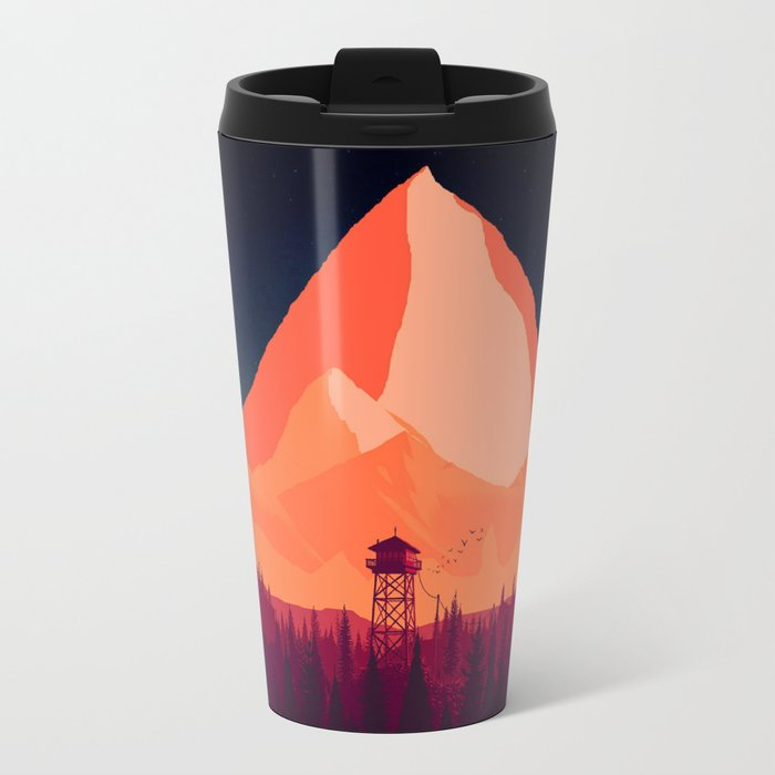 WatchTower Travel Mug
