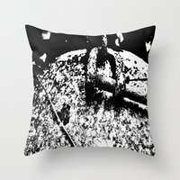 2001 Throw Pillows featuring 2001 by Alan Pary