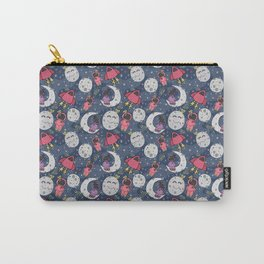 Girl Over the Moon Carry-All Pouch