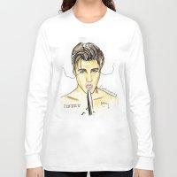 justin timberlake Long Sleeve T-shirts featuring JUSTIN by CARLOS CASANOVA