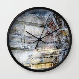HADRON COLLIDER Switzerland Wall Clock