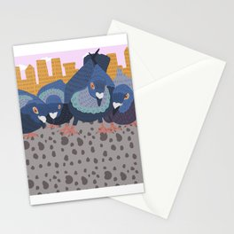 Pigeon Feast Stationery Cards