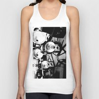cameras Tank Tops featuring Cameras by Yancey Wells
