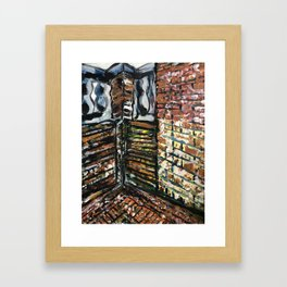 Dancing With Your Memories Framed Art Print