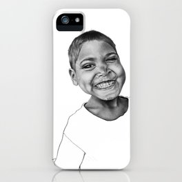 Yogesh the Indian boy iPhone Case