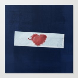 Red Valentine Canvas Print