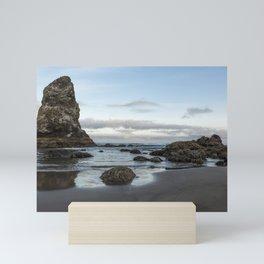 A Serene Morning at Cannon Beach Mini Art Print
