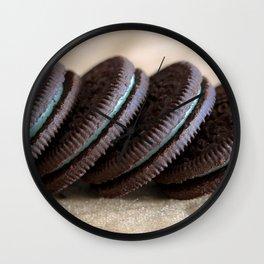 Mint Oreos Wall Clock