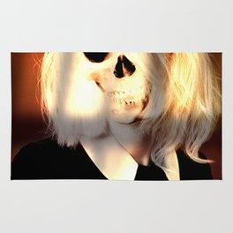 Skull graphic design Rug