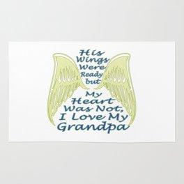 I Love My Grandpa Rug