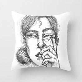 Actually... Throw Pillow