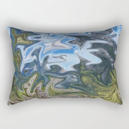 Skies from Above Rectangular Pillow