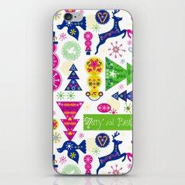 Merry & Bright iPhone Skin