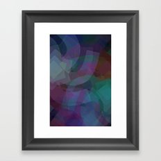 Shapes#1 Framed Art Print