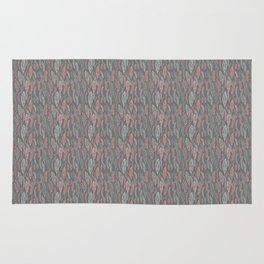 pastel floral Rug