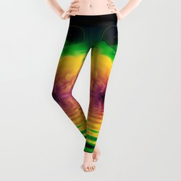 Fractal Rainbows Leggings