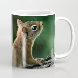 Young Red: Juvenile Red Squirrel Coffee Mug